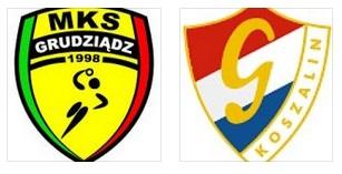 zap MKS Grudziadz - Gwardia Koszalin