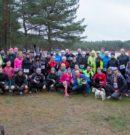 Koniec jesiennego biegania nad jeziorem Czarne